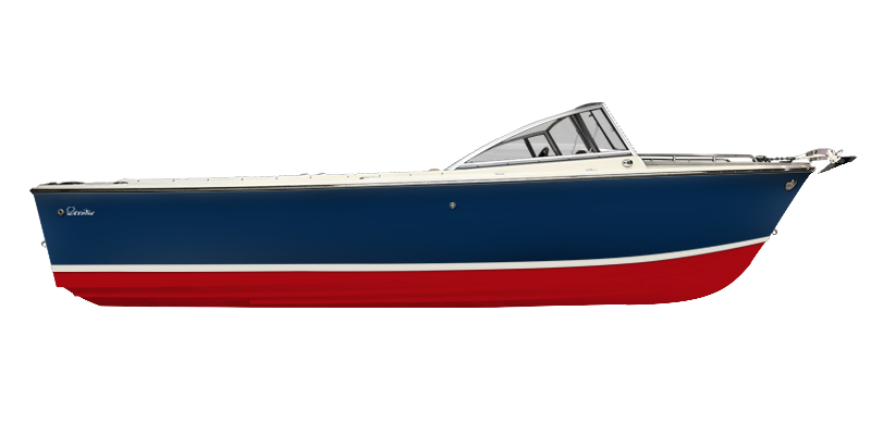R23 Classic Day Boat Side Profile