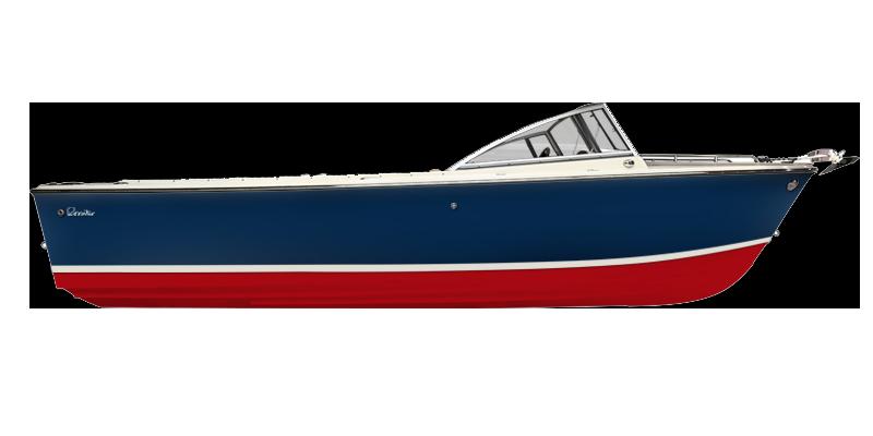 R23 Classic Day Boat Side Profile
